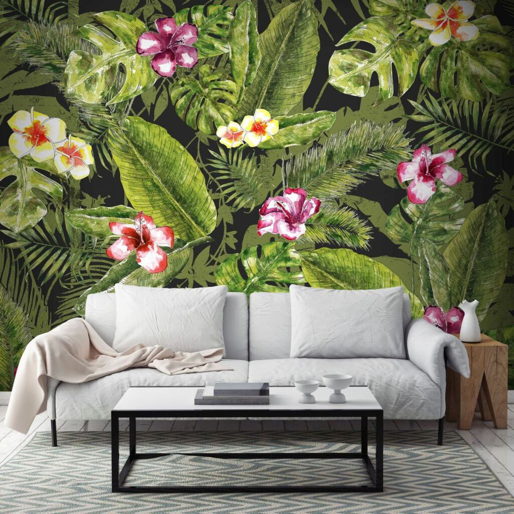 Couture Jungle Flora Ready Made Mural